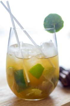 How to make a Brazilian Caipirinha, the RIGHT way.