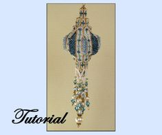 Russian Tower Beaded Ornament by beadedpatterns on Etsy, $25.00