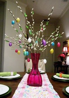 attempting creative: Help Me Glister My Eater Eggs! Easter Tree Decorations, Easter Wreaths, Easter Centerpiece, Easter Decor, Easter Ideas, Easter Crafts, Holiday Crafts, Holiday Fun, Hoppy Easter