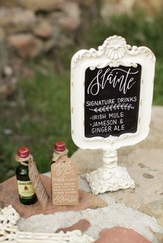 """sketchy notions : Winter Celtic """"Sláinte"""" Photoshoot at Knapp's Castle. Photo by Rebecca Rivera Wedding Photography Jameson And Ginger, Ginger Ale, Chalk Art, Celtic, Castle, Stationery, Wedding Photography, Place Card Holders, Photoshoot"""