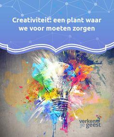 Creativiteit: een plant waar we voor moeten zorgen Het woord creativiteit is bij iedereen bekend, en een #vaardigheid waar iedereen in zekere mate over beschikt. Maar we moeten onze #creativiteit #verzorgen. #Psychologie