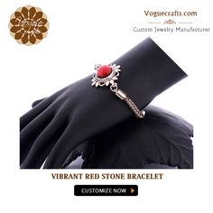 Be BOLD be BEAUTIFUL with this vibrant red fashion bracelet. Time to create your own vibe with it  #Fashion #Jewelry #JewelryForWomen #Manufacturer #Suppliers