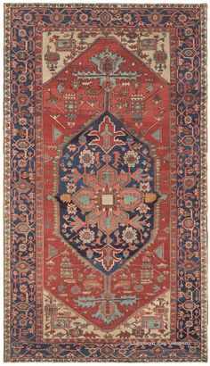 SERAPI - Northwest Persian 7ft 3in x 12ft 9in Late 19th Century