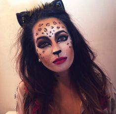 halloween makeup diy leopard animal mua costume sfx glam cat cosplay look