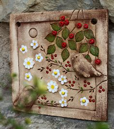 Together forever / Seller articles Monika Kr Blondáková – Ceramic Clay Art Projects, Ceramics Projects, Pottery Sculpture, Wood Sculpture, Clay Tiles, Slab Pottery, Ceramic Flowers, Paintings I Love, Mural Art