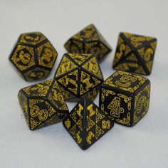 Celtic themed dice.