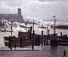 Albert Marquet - Port de Hambourg, 1910