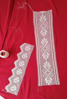 Ara danteli Filet Crochet, Crochet Art, Crochet Granny, Hand Crochet, Crochet Doily Patterns, Crochet Borders, Crochet Doilies, Crochet Stitches, Crochet Cardigan