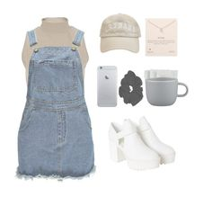 """""""pity party - maddy ellwanger"""" by cheryl11132 ❤ liked on Polyvore featuring River Island, Boohoo, CB2, Dogeared, Monki, women's clothing, women, female, woman and misses"""