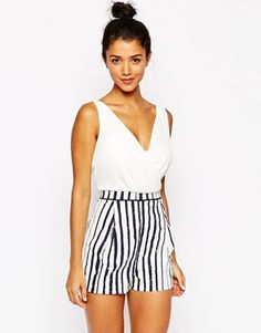 Style+London+Playsuit+with+Stripe+Shorts