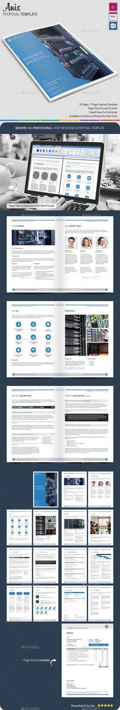 Web Application Design Proposal Template Proposal templates - real estate proposal template