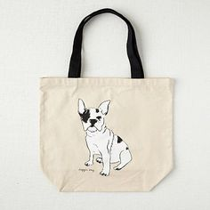 Market Tote Bag - Frenchie  | west elm
