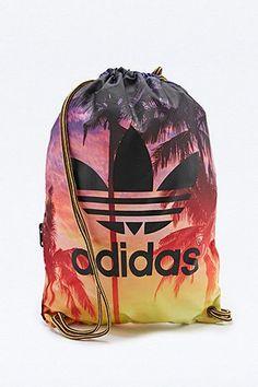 Adidas Palm Print Gym Sack Running Trainers 6ee81846f5ce0