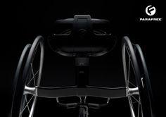 Cadeira de rodas Parafree Sporty núcleo do corpo Máquina de Formação de paraplégicos por Felix Lange