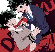 Boku no Hero Academia || Midoriya Izuku (Version Normal and Version Villain/Villano)