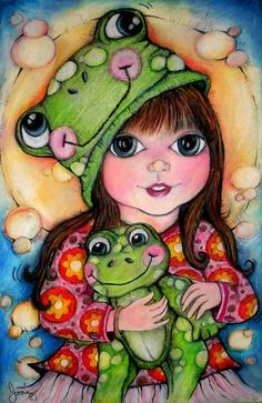 Another image from Jen's Flickr portfolio - isn't she a clever artist? Her pics are always bright and fun. Check out her other stuff and freebies on Pop Art Minis. #art