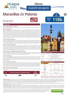 Maravillas de Polonia Puente de Mayo **Precio final desde 1180** ultimo minuto - http://zocotours.com/maravillas-de-polonia-puente-de-mayo-precio-final-desde-1180-ultimo-minuto-2/