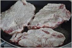 Katerina&Kuchnia: KARKÓWKA PO CYGAŃSKU NA OSTRO Mozzarella, Pork, Cooking Recipes, Meat, Fitness, Kale Stir Fry, Chef Recipes, Pork Chops