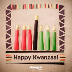 Kwanzaa Events For Joyous Celebrations Happy Kwanzaa, Joyous Celebration, Buy Stamps, Holidays Around The World, School Daze, December, Online Postage, Celebrations, Holiday Decor
