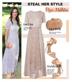 """Pippa Middleton"" by swweetalexutza ❤ liked on Polyvore featuring Stealherstyle and PippaMiddleton"