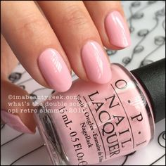 OPI What's the Double Scoop? – OPI Retro Summer 2016