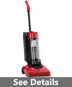 Dirt Devil Vacuum Cleaner Dynamite Plus Corded Bagless Upright Vacuum with Type - Upright, Filters - HEPA, Features - Edge Cleaning
