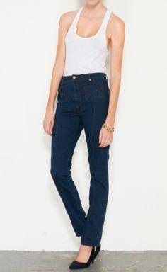 Judi Rosen. High-Waisted Jeans