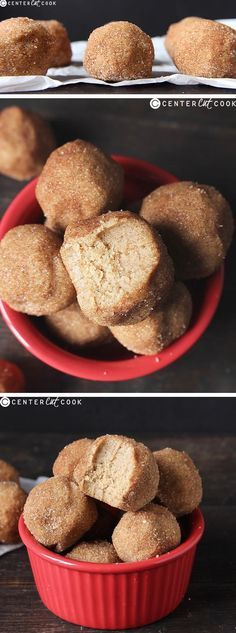 These SNICKERDOODLE COOKIE DOUGH BITES taste just like the classic cookie, but no baking is required! Easy to make and so delicious!