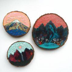 Beautiful Paintings on Reclaimed Wood – Fubiz Media