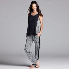 Simply Vera Vera Wang Pajamas: Pajama Separates - Women's