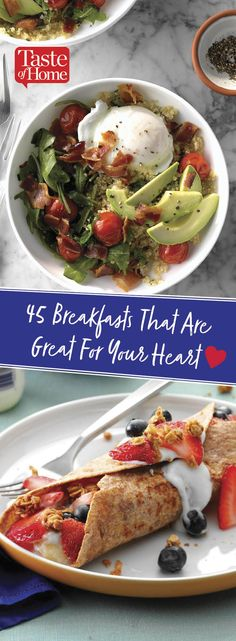 45 Breakfasts That Are Great For Your Heart
