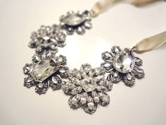 Carrie B Necklace $55 http://www.happilyeverborrowed.com #necklace #wedding #bride