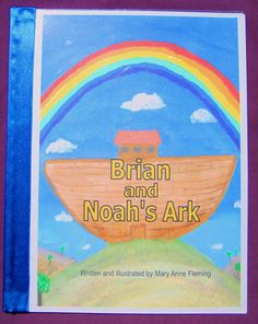 Personalized / Photo Noah's Ark Storybook by funstorybooks on Etsy, $25.00