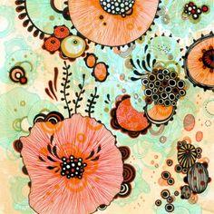 Tu recepcja — Illustrations by Yellena James Yellena James grew. Free Art Prints, Prints For Sale, Deco Miami, Yellena James, Patterns In Nature, Illustration Art, Doodles, Fine Art, Drawings