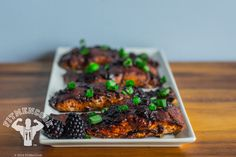 Blackberry BBQ Salmon Meal Prep   FitMenCook   Fit Men Cook - Part 2