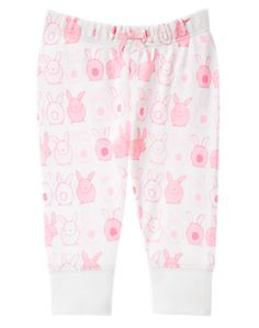 Bunny Pull-On Pants