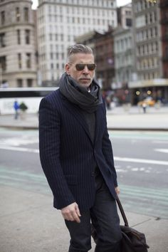 Nick Wooster....my obsession continues. Mens should learn from this man.
