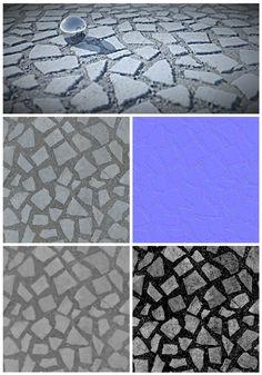 ATL (176 Tile Textures) by KYRINAPIA