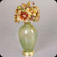 Jay Strongwater Gisele Bouquet Perfume Botella de transición de obras de arte