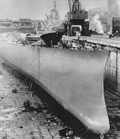 USS Kentucky never finished