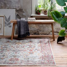 Collection Canvas 80 x 150 cm Tapiso/® Tapis Chambre des Jeunes Salon Moderne Motif G/éom/étrique Carreaux Mosa/ïques Couleur Grise Beige
