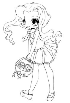 Chibi Coloring Page Awesome Coloring Pages Pinterest Chibi