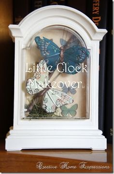upcycled clock that wasn't working anymore