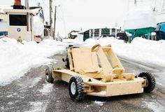 plyfly wooden gokart
