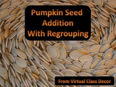 The amazing photography of Virtual Class Decor joins forces with my teacher side to make this seasonal Math Concept book! Not a regular old counting book, but one that you can use to assist students in reaching Common Core Math Goals.  Students can work along with you to demonstrate how regrouping works, and they can discuss it using the words provided in this book designed for demonstration and group work.