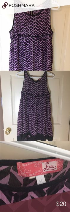 Purple chevron dress Purple chevron dress Dresses Mini