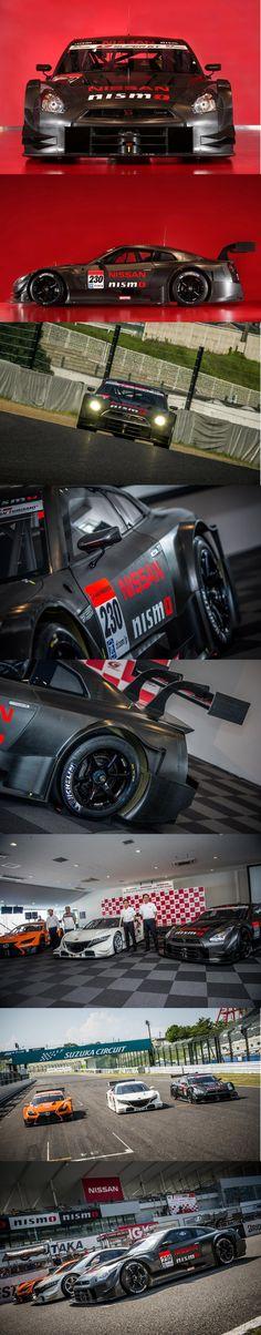 Nissan GT-R NISMO GT500 Super GT race car