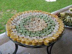 Tea Sandwiches   ... oeuvres Petite Pinwheel Tea Sandwiches – CATERING BY DEBBI COVINGTON