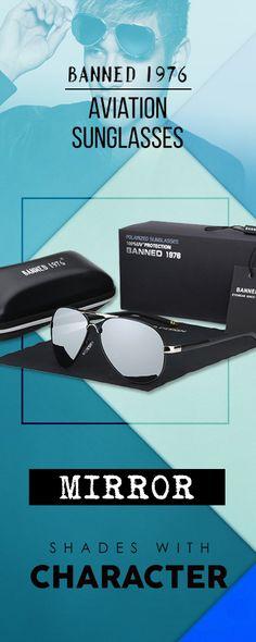 94d1e9e1e6 Banned 2018 HD Polarized men s aviation Sunglasses - Mirror Men s  affordable top brand designer style fashion
