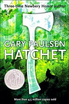 Hatchet [Brian's Saga Series #1] - After a plane crash, thirteen-year-old Brian spends fifty-four days in the wilderness, learning to survive initially with only the aid of a hatchet given him by his mother, and learning also to survive his parents' divorce.